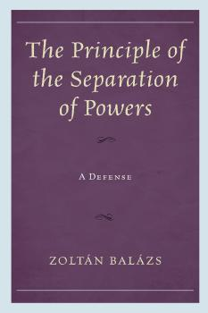 Description: The Principle of the Separation of Powers
