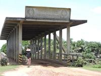 Figure 4.1 Floodgate at 1st January Dam, built during the Khmer Rouge period, Kampong Thom Province, Cambodia. Source